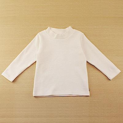 愛的世界 SUPERMINI 彈性長袖套頭衫-米白/2~4歲
