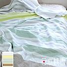 日本桃雪今治毛巾被(原野綠)