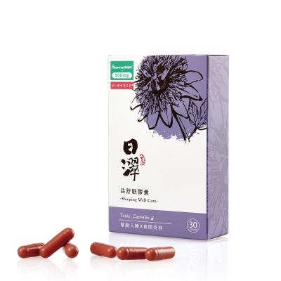 日濢 Tsuie  益舒眠膠囊(30入/盒-日本專利GABA及桃子賽洛美)