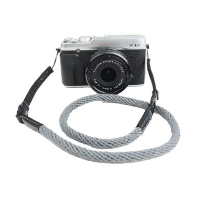Cam in 棉織細繩款相機背帶(共五色)-灰色