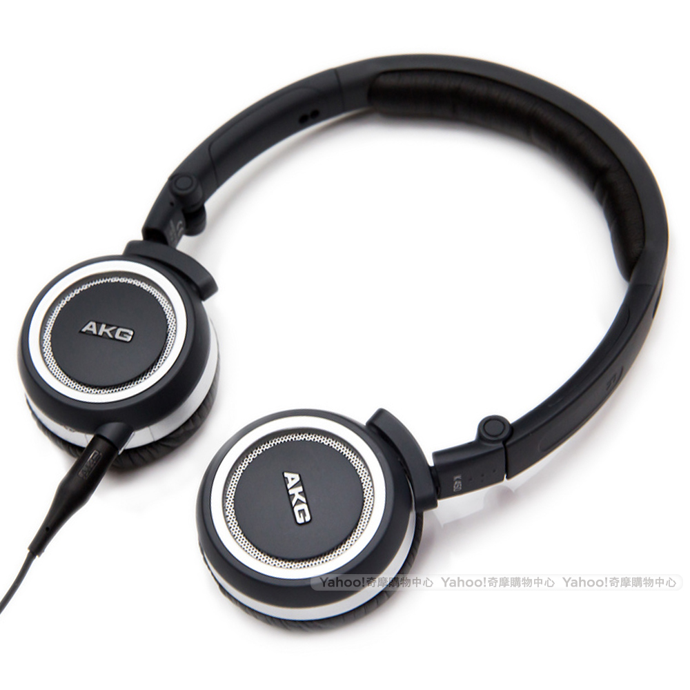 AKG K450 Navy Mini Headphone 封閉式 摺疊耳機