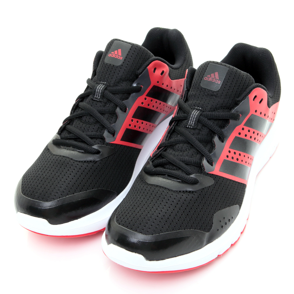 24H-ADIDAS-男慢跑鞋AF6660-黑紅