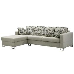 Bernice-奧莉薇L型布沙發-左右型可選