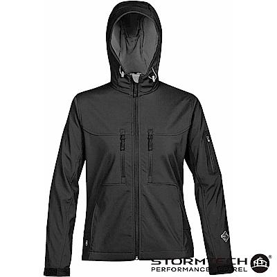 【加拿大STORMTECH】HS-1W獨家輕薄防水透氣刷毛保暖外套-女-黑