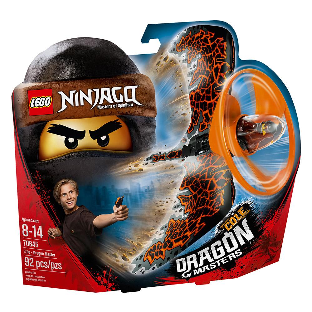 LEGO樂高 NINJAGO忍者系列 70645 阿剛 土之飛龍大師陀螺