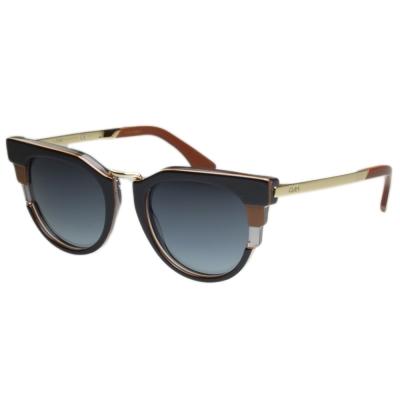 FENDI 廣告主打太陽眼鏡 (黑色)FF0063S