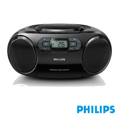 PHILIPS飛利浦手提CD/MP3/USB/卡帶音響(AZ329)