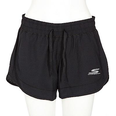 SKECHERS 女短褲 - WSH3ABLK