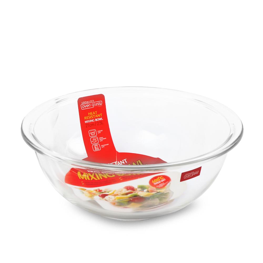 樂扣樂扣 耐熱玻璃調理碗 900ML(8H)