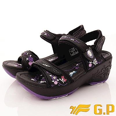 GP時尚涼拖-兩穿式磁扣涼鞋款-EI698W-41紫(女段)