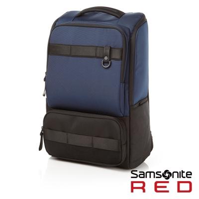 Samsonite RED ELIUN 簡約休閒中性筆電後背包-L17吋(海軍藍)