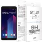 iMOS HTC U11 PLUS 平面滿版 強化玻璃 螢幕保護貼(黑邊)