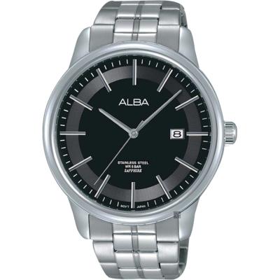 ALBA雅柏 日系時尚手錶 黑 42mm VJ42-X226D AS9D89X1
