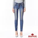 BRAPPERS 女款 新美腳Royal系列-女用彈性中低腰窄管褲-藍黑