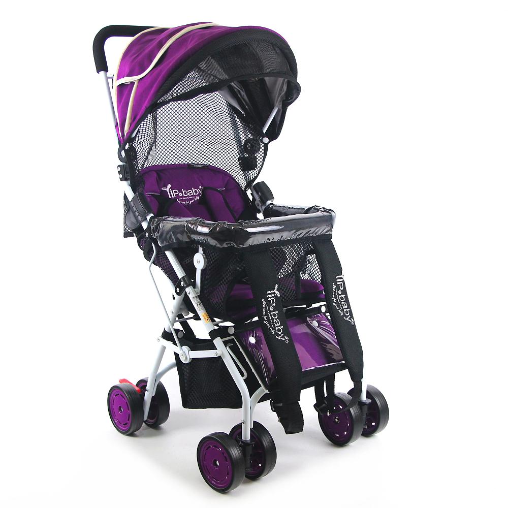 Yip Baby 全罩式多功能揹架推車(專利收折)