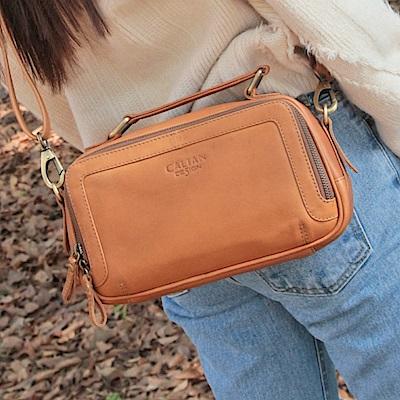 CALTAN-女用真牛皮 手提包 斜背包 皮包 肩背包 女包-5362系列