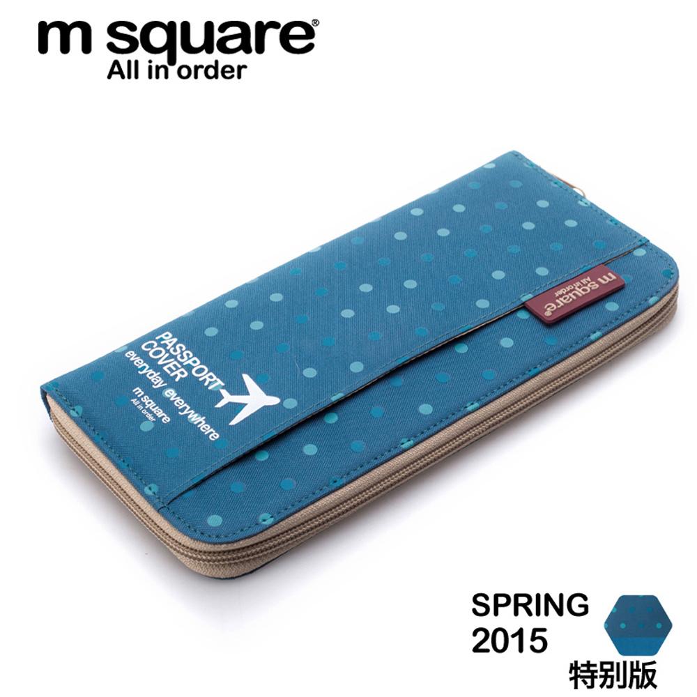 M Square 拉鍊護照夾 product image 1