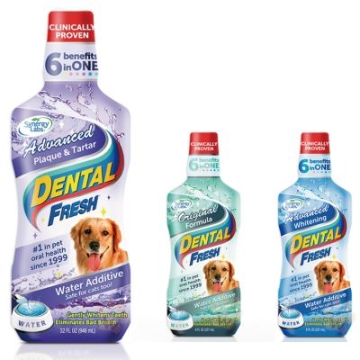 美國Dental Fresh《犬用》潔牙液8oz