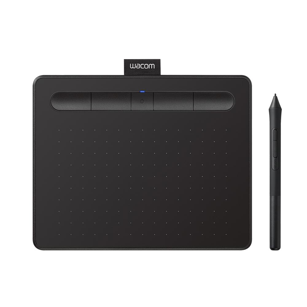Wacom Intuos Comfort Small 繪圖板 (藍芽版)-黑