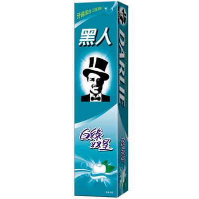 黑人白綠雙星牙膏 160g