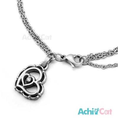 AchiCat 珠寶白鋼手鍊 花漾女孩