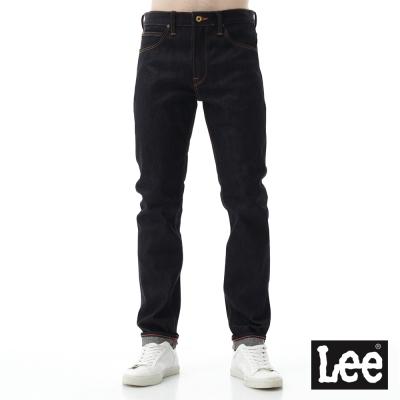 Lee 牛仔褲 707中腰標準素面合身小直筒牛仔褲/101+男款