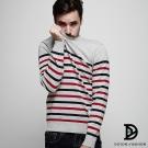 DITION 高回購率NAVY韓系海軍紅白藍橫條針織衫毛衣