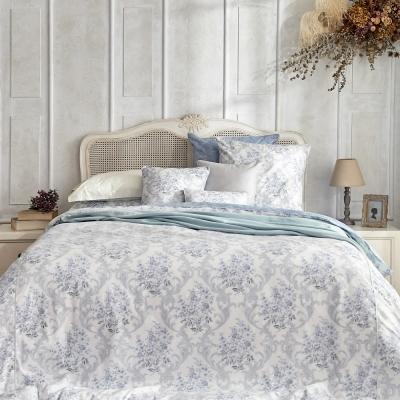 BBL柏莉比亞100%精梳棉.印花雙人兩用被四件式床包組