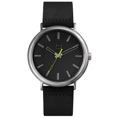 ZOOM-ORIGIN極簡幾何定律腕錶-黑色/44mm
