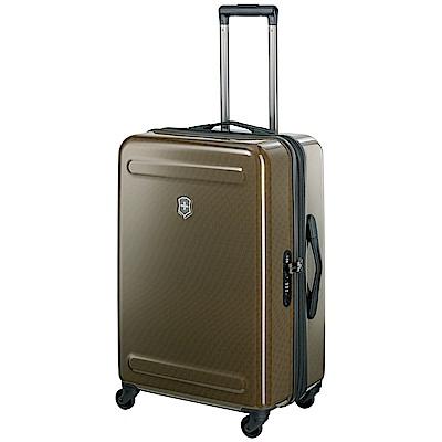 VICTORINOX Etherius Illusion系列可擴充26吋硬殼行李箱-古銅
