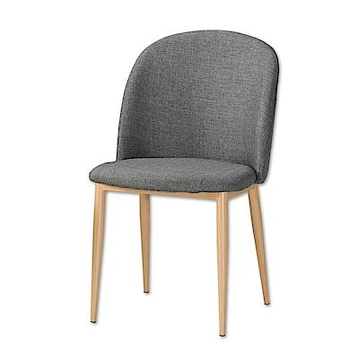 Boden-舒貝北歐風餐椅/單椅(兩色可選)-48x60x82cm