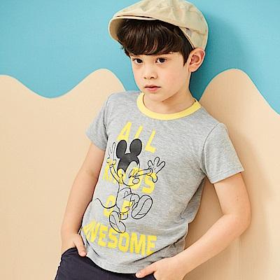 Disney 米奇系列歡喜跳躍圓領上衣 (2色可選)
