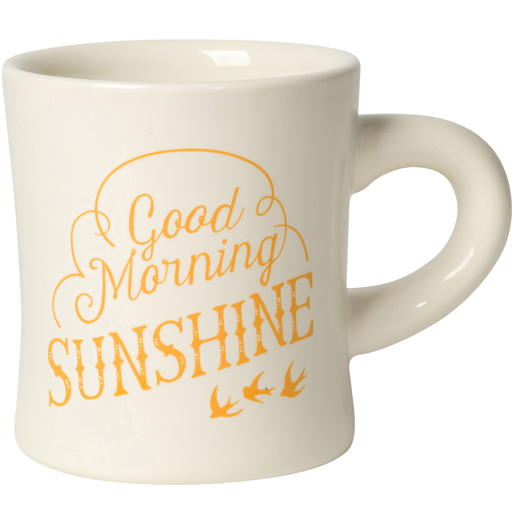 NOW 曲線馬克杯(早安太陽)