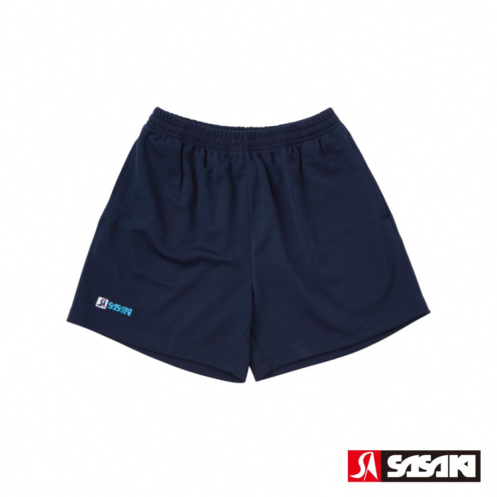 SASAKI 吸濕排汗排球短褲-男-丈青