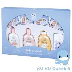 KU.KU酷咕鴨-嬰兒沐浴禮盒(1061)