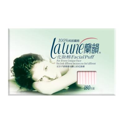 蘭韻 紙纖化妝棉 180片/盒