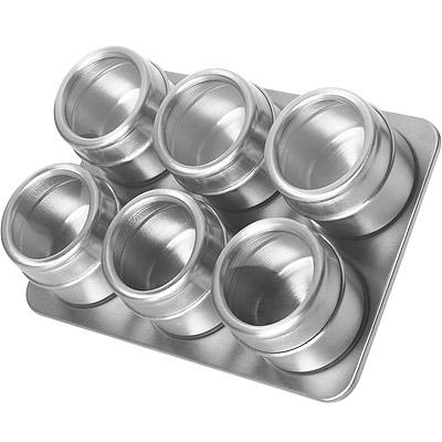 EXCELSA 附架磁吸調味罐6入
