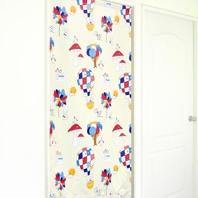 布安於室-童話遮光風水簾-米色