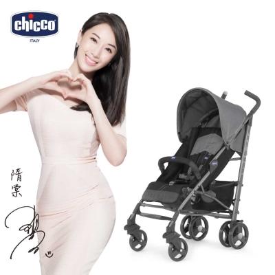 chicco-New Liteway 2  樂活輕便推車-玄武灰