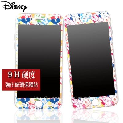 Disney迪士尼iPhone 7 Plus 9H滿版玻璃保護貼_歡樂繽紛