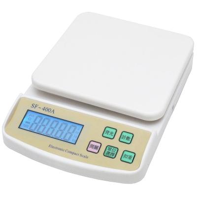 家用4單位多功能精密液晶背光版方型電子秤料理秤(SF400A)