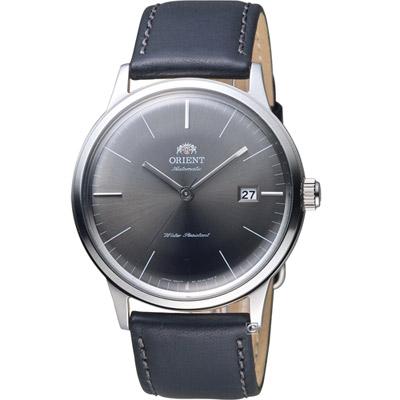 ORIENT 東方錶 DATE II 日期顯示機械錶-銀色/40mm