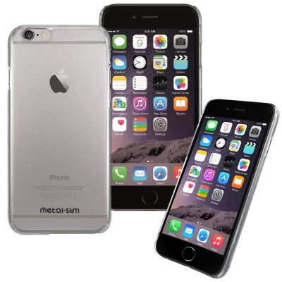 Metal-Slim Apple iphone6 (4.7)高抗刮PC透明系列保...