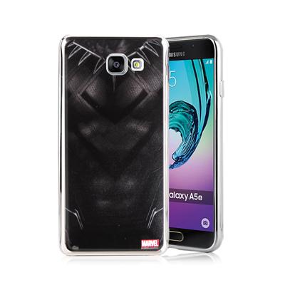 漫威正版 三星 Galaxy A5(2016) 美國隊長3 彩繪電鍍手機殼(黑豹...