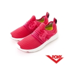 【PONY】SPLASH X 系列-休閒鞋-桃紅-女性