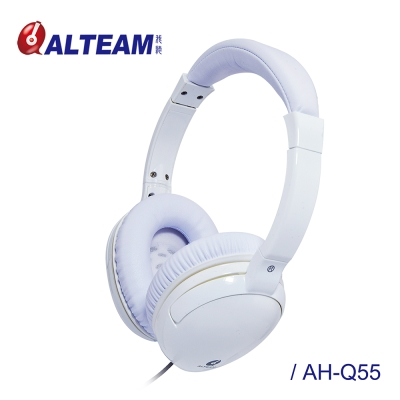 ALTEAM 我聽 AH-Q55 【花系列】鬱金香耳罩式耳機