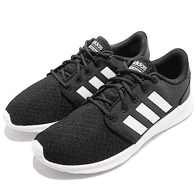 adidas 慢跑鞋 QT Racer 輕量 女鞋