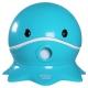 寶貝樂 可愛章魚幼兒馬桶學便器-藍色 product thumbnail 1