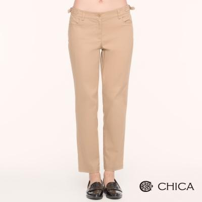 CHICA 率性女人味長褲(2色)