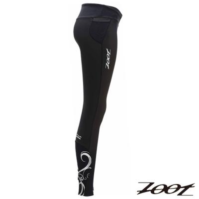 ZOOT 頂級BIO肌能路跑長褲Z1404013(女)(黑)-16